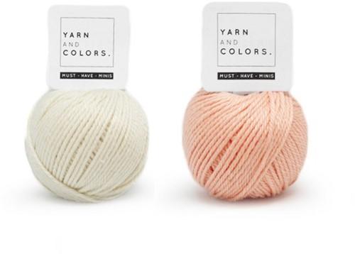 Yarn and Colors Mini Malistic WOW! Wandschmuck Paket 042 Cream / Peach