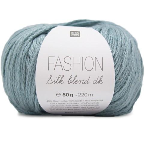 Fashion Silk Blend dk Pullover Strickpaket 2 36/38 Petrol