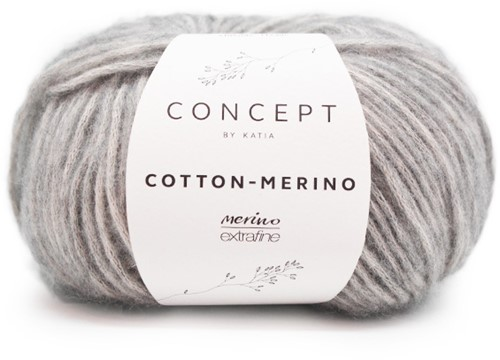 Cotton-Merino Patentmuster Pullover Strickpaket 2 XXL