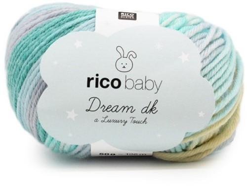 Rico Dream Babyjacke mit Zöpfen Strickpaket 2 - 62/68