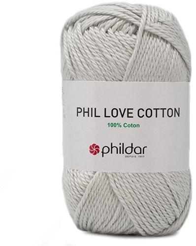 Phil Love Cotton Pullover Strickpaket 2 46/48 Perle