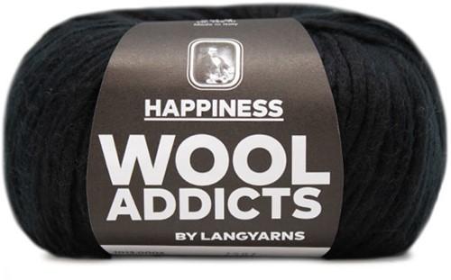 Wooladdicts Good Mood Umschlagtuch Strickpaket 2 Black
