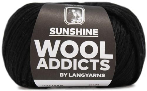 Wooladdicts Glow-Getter Pullover Strickpaket 2 M Black