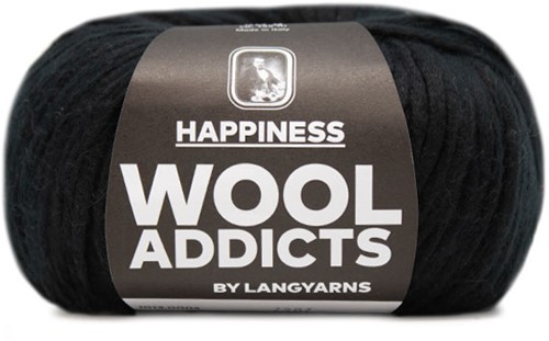 Wooladdicts Outdream Yourself Jacke Strickpaket 2 L Black