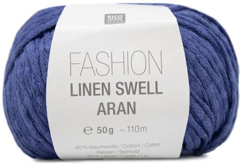 Fashion Linen Swell Aran Sweater Strickpaket 3 36/38 Azure