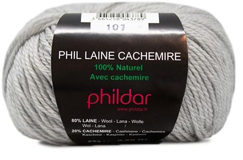 Phil Laine Cachemire Damenpullover Strickpaket 3 42/44