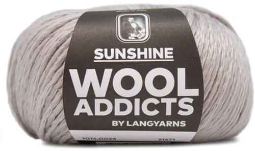 Wooladdicts Whitty Whirlwind Top Strickpaket 3 L/XL Silver