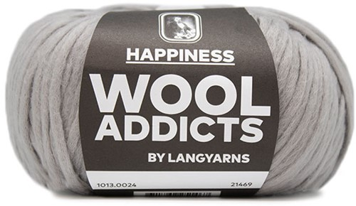 Wooladdicts Sweet Desires Jacke Strickpaket 4 L/XL Grey