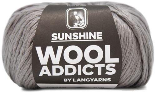 Wooladdicts Solid Stone Jacke Strickpaket 4 M Grey