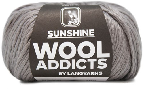 Wooladdicts Whitty Whirlwind Top Strickpaket 4 S/M Grey