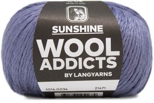 Wooladdicts Glow-Getter Pullover Strickpaket 5 L Jeans