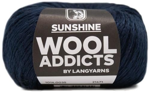Wooladdicts Happy Soul Jacke Strickpaket 6 L/XL Marine