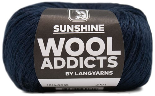 Wooladdicts Whitty Whirlwind Top Strickpaket 6 S/M Marine