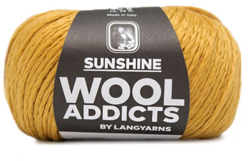 Wooladdicts Glow-Getter Pullover Strickpaket 8 M Gold