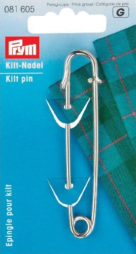 Prym Kiltnadel Eisen 76 mm