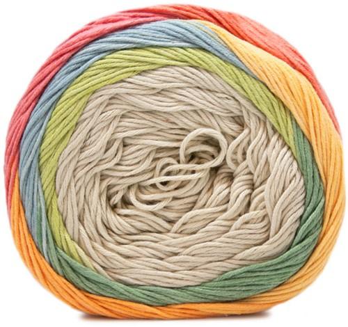 Fair Cotton Craft Kinderkleid Strickpaket 2 Beige / Brown / Yellow / Stone Grey