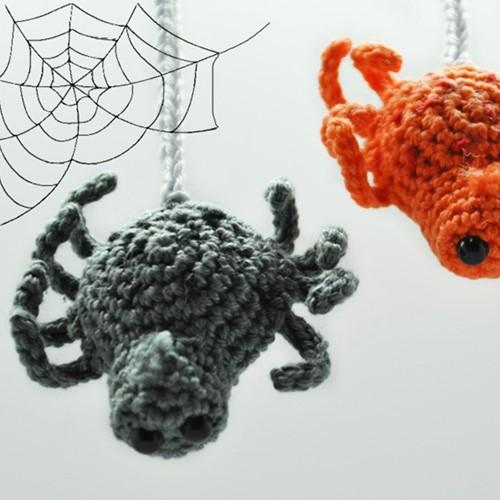 Häkelanleitung kleine Spinne