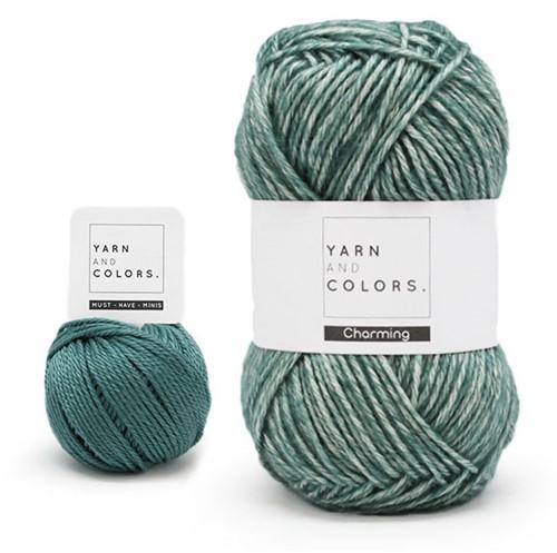 Yarn and Colors Toned Triangle Häkelpaket 4