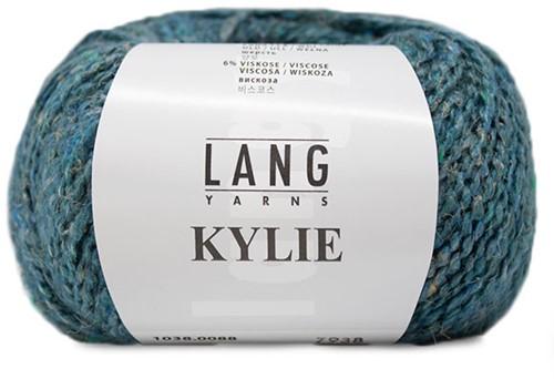 Kylie Pullover Strickpaket 1 L Petrol