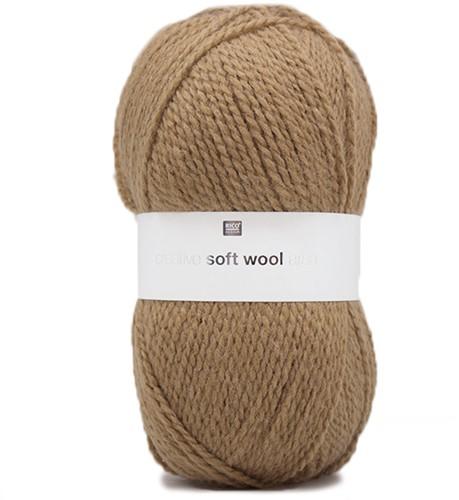 Creative Soft Wool Aran Kinderpullover Strickpaket 1 98/104