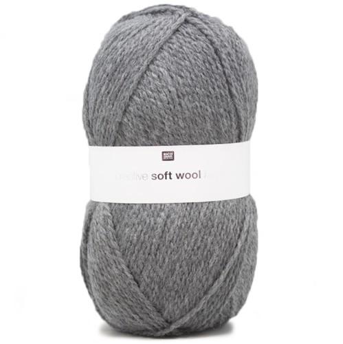 Creative Soft Wool Aran Damenpullover Strickpaket 1 38/40