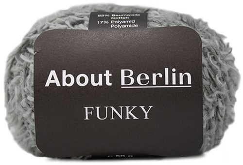 About Berlin Funky Pullover Strickpaket 1 40/42 Grey