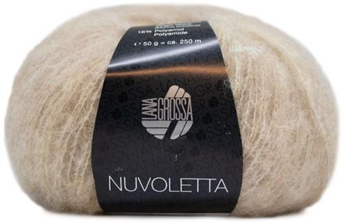 Nuvoletta Mantel mit Gürtel Strickpaket 2 Beige 36/40