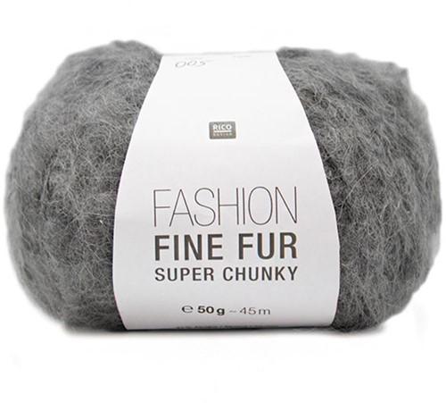 Fashion Fine Fur Jäckchen Strickpaket 2 40