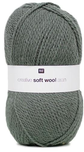 Creative Soft Wool Aran Schal Strickpaket 2