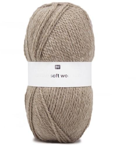 Creative Soft Wool Aran Damenpullover Strickpaket 2 44/46