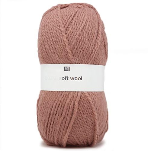 Creative Soft Wool Aran Kinderpullover Strickpaket 2 110/116