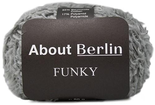 About Berlin Funky Ajourpullover Strickpaket 2 36/38 Grey