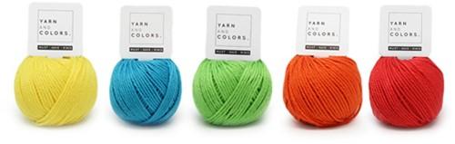 Wollplatz Regenbogen Punchpaket 6 Colorful