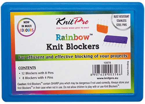 KnitPro Knit Blockers Regenbogen