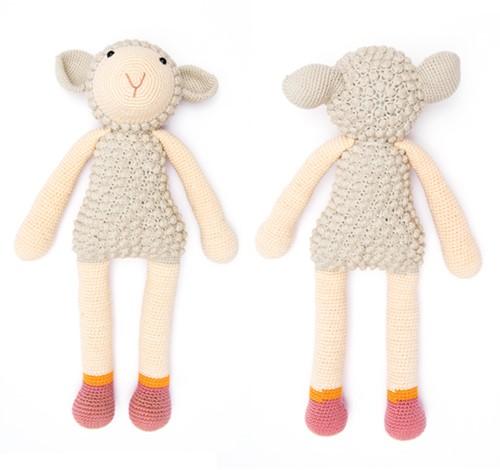 Kuscheltier Schaf Häkelpaket 1