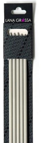 Lana Grossa 40cm Kunststoff Strumpfstricknadeln 6,5mm