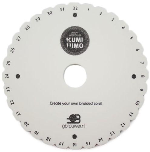 Kumihimo Disc Rund 15cm