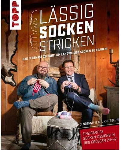 Lässig Socken stricken mit DenDennis und Mr. Knitbear