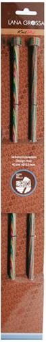 Lana Grossa Design-Holz 40cm Jackenstricknadel 6,5mm