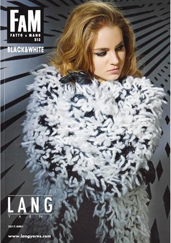 Lang Yarns Fatto a Mano No.213 Black & White