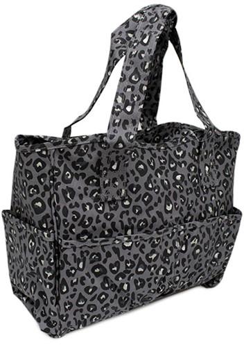 Hobbytasche Leopard Grey