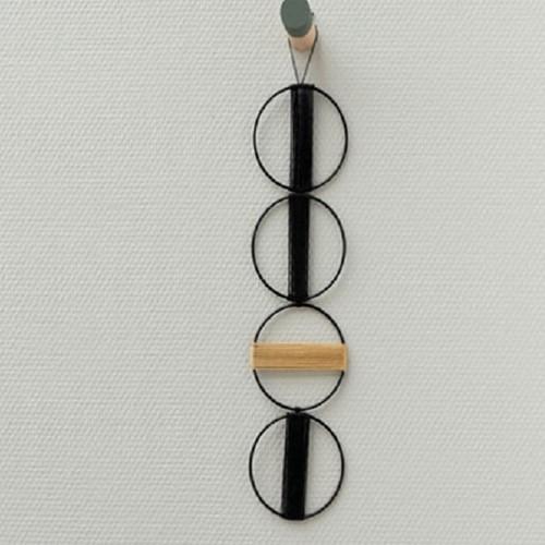 Yarn and Colors Mini Malistic WOW! Wandschmuck Paket 089 Gold / Black