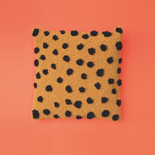 Cheetah Kissen Punchpakket 1 Saffron/Black