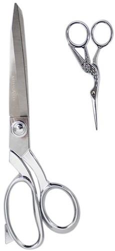 Milward Set Stoffschere (25cm) & Stickschere (11,5cm) Silver