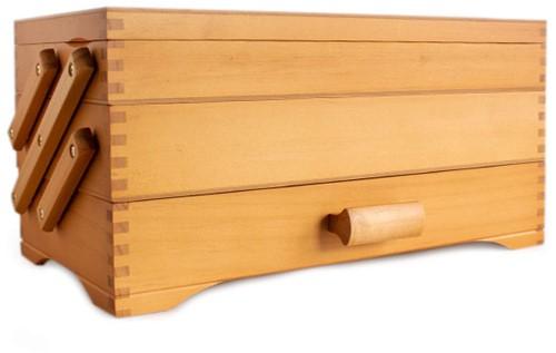 Nähkästchen Wood Cantilever 3 Etagig