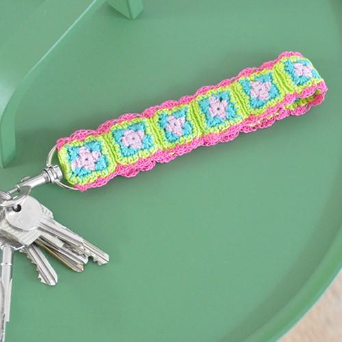 Häkelanleitung Schlüsselanhänger