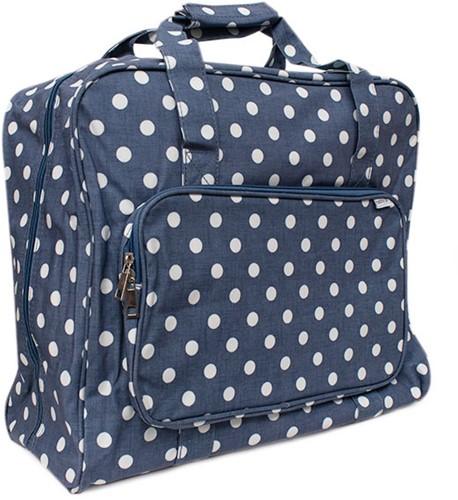 Nähmaschinen Tasche Denim Polka Dot