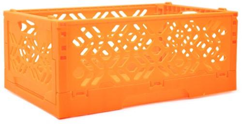 Wollplatz Faltbare Aufbewahrungskiste Orange