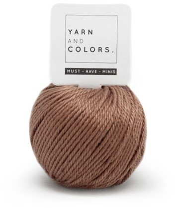 Yarn and Colors Less is more WOW! Wandschmuck Paket 008 Teak
