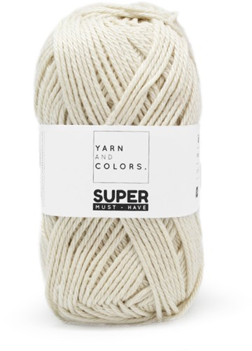 Yarn and Colors Twist WOW! Wandschmuck Paket 002 Cream